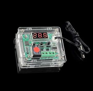 DC-12V-Thermostat-Temperature-Controller-Switch-Board-Red-Digital-Display-Case