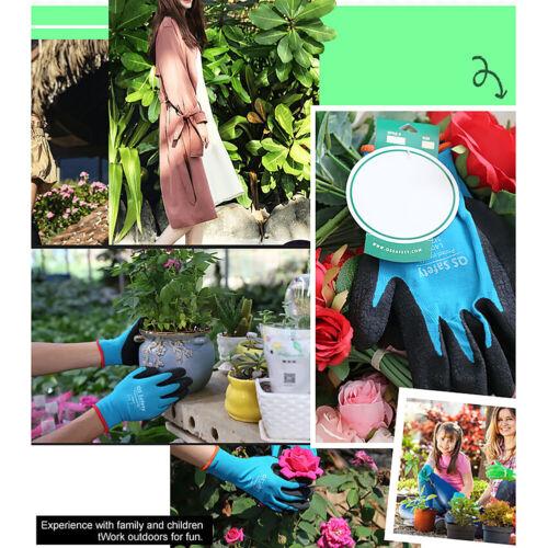 Garden Clamming Glove Waterproof Digging Planting Pine Tree Bamboo Working Glove