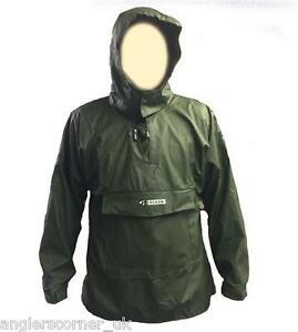 Ocean smock with front pocket all sizes waterproof for Waterproof fishing clothing