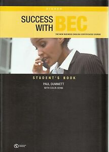 SUCCESS-WITH-BEC-HIGHER-Business-English-Course-STUDENT-039-S-BOOK-with-Answers-NEW