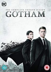 GOTHAM-COMPLETE-SERIES-4-DVD-Fourth-4th-Fourth-Forth-Season-Four-UK-New-R2-x