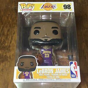 Details about LeBron James #98 NBA Los Angeles Lakers 10