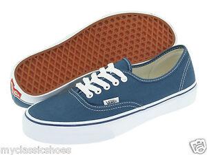 517e27c1d1 VANS AUTHENTIC CORE CLASSICS SKATE SHOES NAVY BLUE MEN S WOMEN S NEW ...