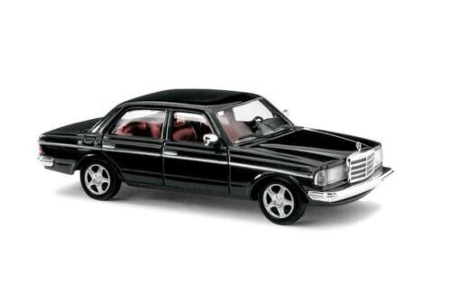 Busch 46872 MERCEDES w123 Black Edition