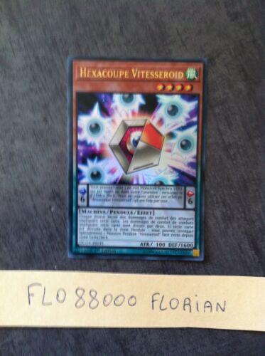 VF//Ultra Rare YUGIOH Hexacoupe Vitesseroid DUOV-FR035