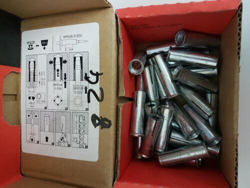 25xHilti HKD M10x40 Einschlaganker,Kompaktdübel,Schwerlastanker