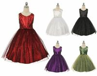Girls Dress Easter Christmas Party Birthday Pageant Graduation Wedding 352