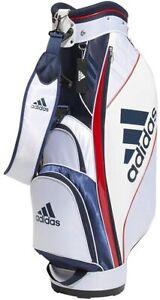 Adidas Golf Men's Caddy Bag BG330 White / College Navy