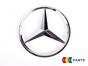 NEW-GENUINE-MERCEDES-BENZ-MB-E-CLASS-W212-REAR-TRUNK-BOOT-LID-STAR-BADGE