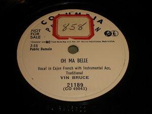 Vin-Bruce-Oh-Ma-Belle-La-Valse-De-St-Marie-78-Columbia