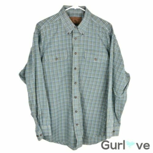 Clearwater Outfitter Button Flannel Shirt Men L