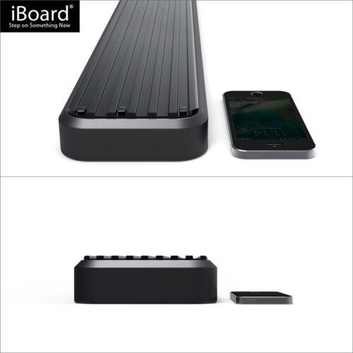"Satin Black 4/"" iBoard Side Step Nerf Bar Fit 10-19 Toyota 4Runner Limited"