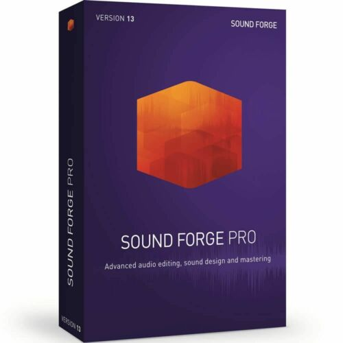 MAGIX Sound Forge Pro 13 Academic Download Audio Waveform Editor Software *New*