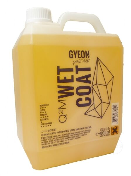 Gyeon Q²M Wet Coat 4000 ml Sprühversiegelung nano