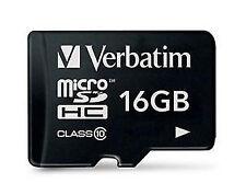 Verbatim Micro SDHC Card 16GB Class 10