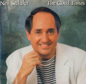 ULTRA-RARE-NEIL-SEDAKA-The-Good-Times-CD-the-Original-release-1986