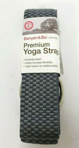 Free Shipping New Banyan /& Bo Premium YOGA STRAP by GAIAM