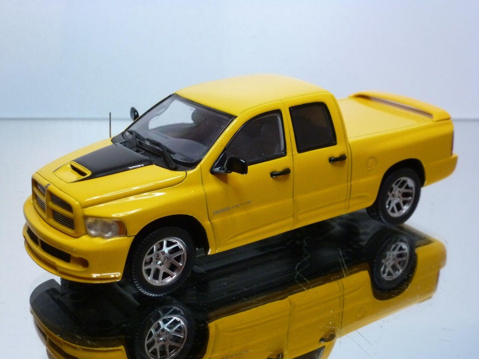 SPARK 0871 DODGE RAM SRT-10 QUAD CAB 2005 - amarillo 1 43 - EXCELLENT - 10