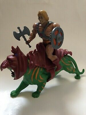 RAM MAN Taiwan 1982 He-Man Masters of the Universe Vintage Action Figure #22