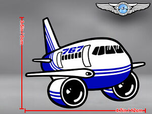 BOEING B 767 B767 CUT TO SHAPE DECAL / STICKER