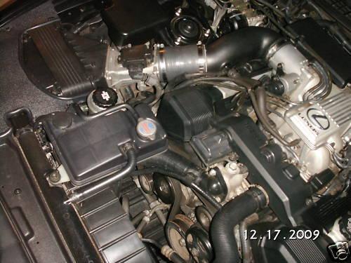 BFH Silicone Intake Hose 91 95 UZ Lexus SC400 V8 Soarer