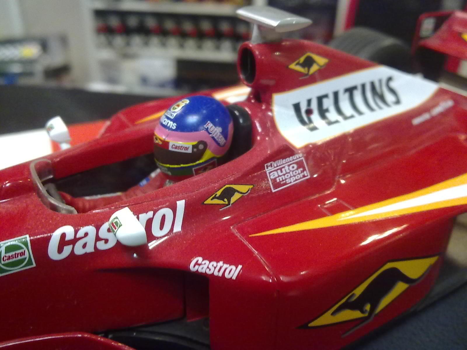 Williams Mecachrome Mecachrome Mecachrome FW20 1998 1 18 Jacques Villeneuve 9c109e
