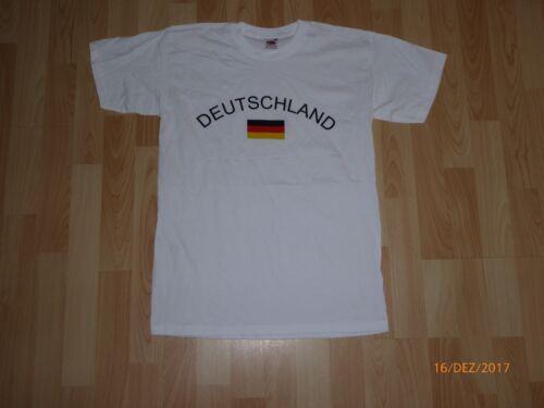 Deutschland Fan-Shirt T-Shirt Trikot  Germany Größen S 3XL