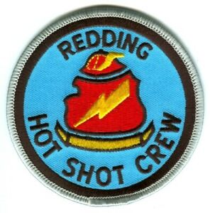 Redding-Hot-Shot-Crew-Forest-Fire-Wildfire-Wildland-Patch-California-CA