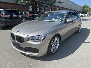 2014 BMW 7 Series 760LI, FULL OPTIONS, EXECUTIVE PKG, M SPORT PKG, NO ACCIDENT