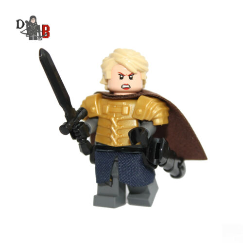 Game of Thrones Brienne of Tarth Minifigure Made using LEGO /& custom parts.