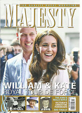 MAJESTY, THE QUALITY ROYAL,   WILLIAM & KATE ROYAL TOUR DE FORCE   OCTOBER, 2016