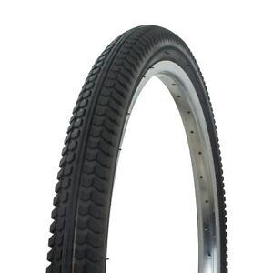 "NEW Black 24/"" x 1.75/"" Bicycle Tire TURBO STYLE Thread Chopper BMX Cruiser Bike"
