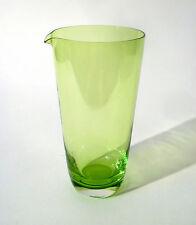 60s Glas Krug H 18,5 cm Friedrich Kristall decanter jug glass carafe annees 60