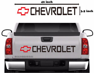 Chevy-Bowtie-Car-Vinyl-Decal-Tailgate-Sticker-Truck-Windshield-Strip-Graphics