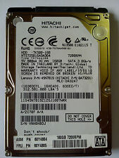 "160 GB SATA NOTEBOOK HARD DISK DRIVE 2.5"" (HITACHI / MIX)01 YEAR SELLER WARRANTY"