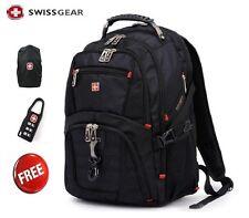 "wenger  Swiss Gear17"" Men Travel Bags Macbook laptop hike backpack 8112-01"
