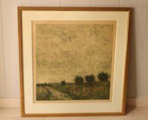 Lithography-of-Gantner-Bernard-034-Poppyfields-034-No-7-185-With-Certificate