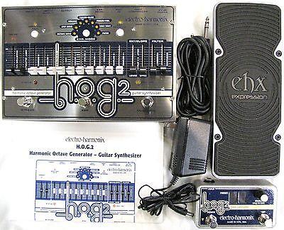 Used Electro-Harmonix EHX HOG 2 Harmonic Octave Generator Pedal w/ Foot Control