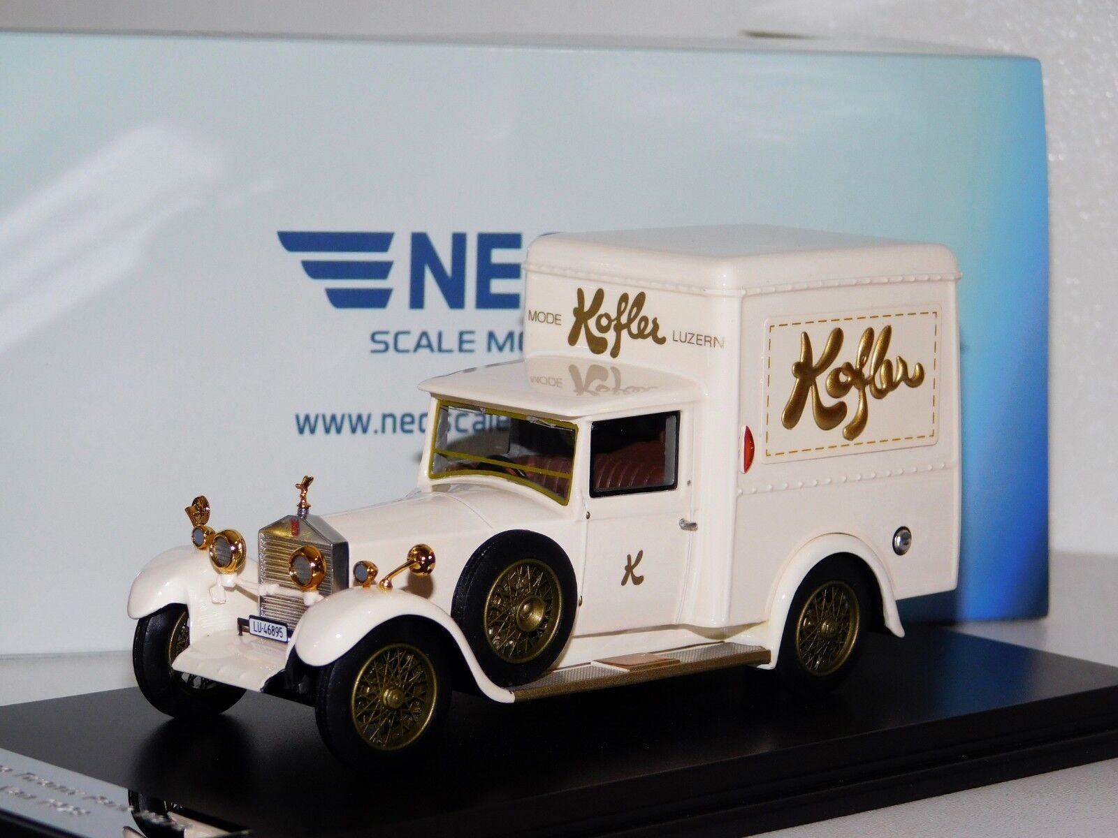 ROLLS ROYCE 4 Twenty delivery van Neo 46895 1 43