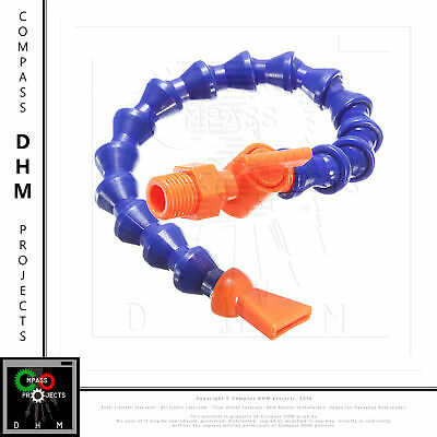 Tubo raffreddamento CNC punta piatta flexible plastic water oil coolant pipe