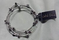 Cookie Lee Red Genuine Crystal Bracelet Set Of 5 With Tags