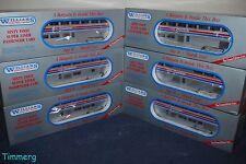 Williams Trains SL60AM Amtrak Superliner Aluminum 6-Car Passenger Set **