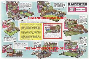 Britains-Floral-Jardin-Cartel-1965-A3-Gran-Tamano-Tienda-Letrero-ANUNCIO-FOLLETO