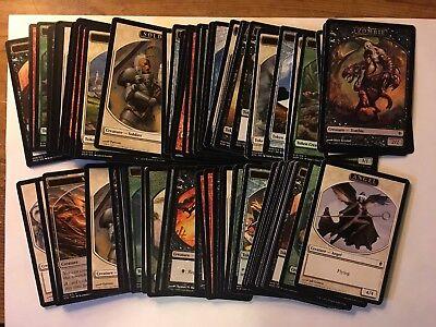 400 Magic the Gathering MTG TOKEN Card Lot JUMP START COLLECTION