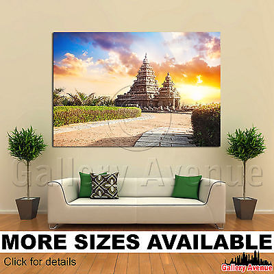 Desert sunset 3.2 Wall Art Canvas Picture Print