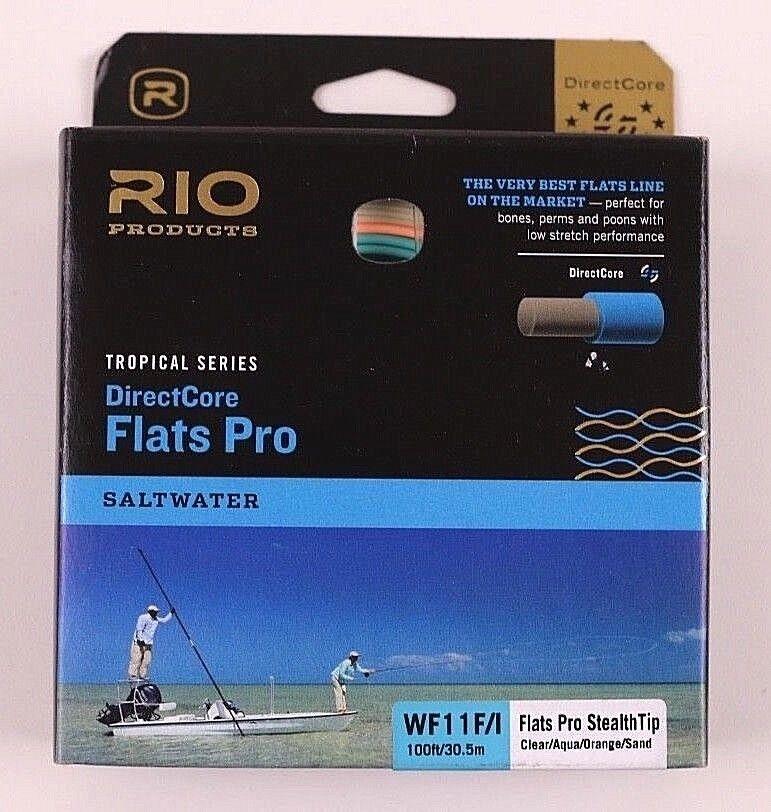 Rio Flats Pro Pro Pro Stealth Tip DirectCore WF11F/I Fly Line Free Fast Ship 6-20158 3f5c01