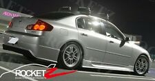 NEW 03-09 Infiniti G35 Gialla Style Side Skirts 4DR Sedan CANADA USA