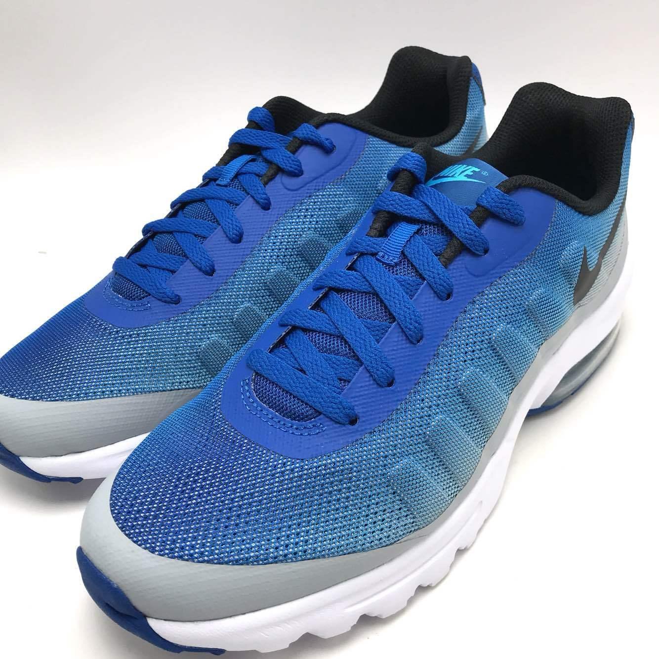 Nike Air Max Invigor Print Men's Running bluee Jay Black-Wolf Grey 749688-403