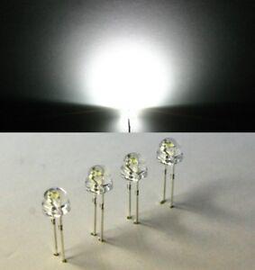 50-LED-weiss-1200mcd-white-120-5mm-Flachkopf-Strawhat-Strawcap