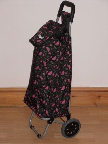 """24/"""" Léger Tirer Shopping Trolley en nouvelle pastèque//Flamants Roses Imprimé."""